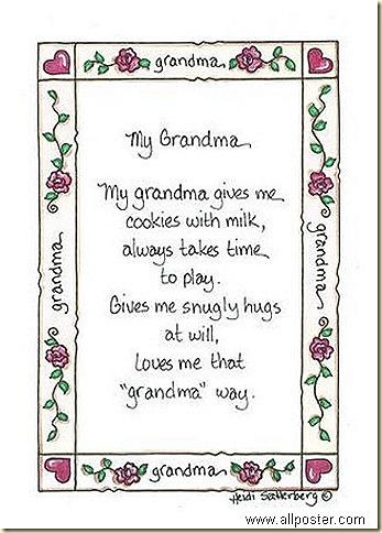 Grandma - sign