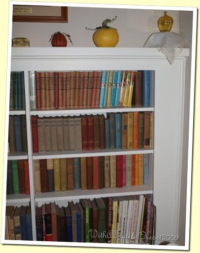 Elsie Dinsmore Books - Bookshelf
