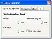Taskbar Transizer