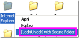 Bloccare Internet Explorer con password