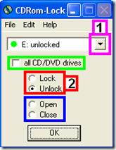 CDRom-Lock