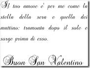 Scrivere un lettera d'amore al PC con i caratteri di testo di San Valentino