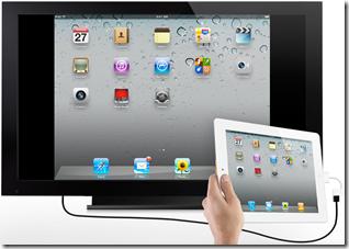 iPad 2 si può collegare alla TV con il cavo HDMI