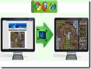 Come giocare i giochi online a schermo intero con un clic
