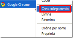 Creare collegamento file