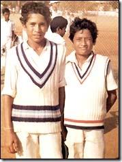 Sachin Tendulkar Young Cricketer