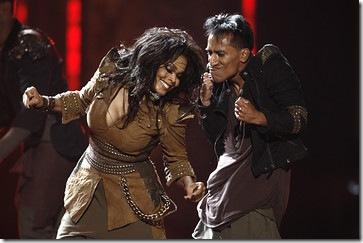 Janet Jackson in AMA 2009