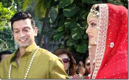 Isha Koppikar Wedding