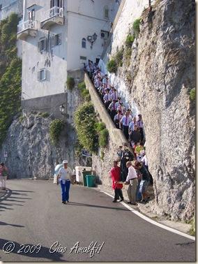 Ciao Amalfi Coast Blog Antonio Procession2
