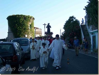 Ciao Amalfi Coast Blog Antonio Procession3