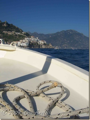 Ciao Amalfi Coast Blog Boat View