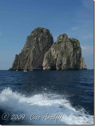 Ciao Amalfi Coast Blog Capri Faraglioni