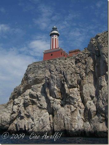 Ciao Amalfi Coast Blog Capri Faro1