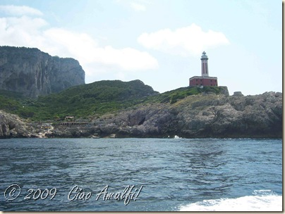 Ciao Amalfi Coast Blog Capri Faro2