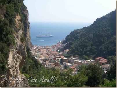 Ciao Amalfi Coast Blog Windsurf in Amalfi above