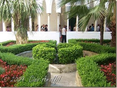 Ciao Amalfi Coast Blog Cloister Garden