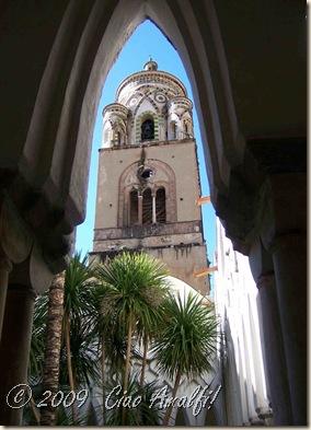 Ciao Amalfi Coast Blog Cloister Campanile