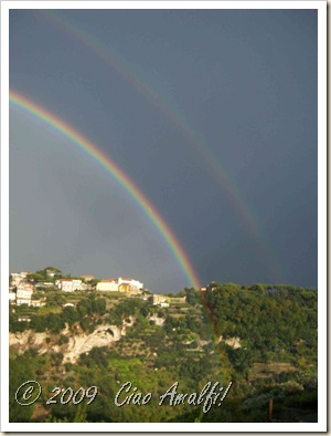 Ciao Amalfi Coast Blog Rainbow Ravello