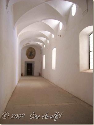 Ciao Amalfi Coast Blog Certosa San Giacomo Corridor
