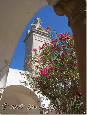 Ciao Amalfi Coast Blog Certosa San Giacomo campanile