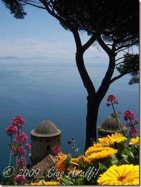 Ciao Amalfi Coast Blog View Villa Rufolo
