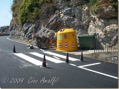 Ciao Amalfi Coast Blog Crosswalk