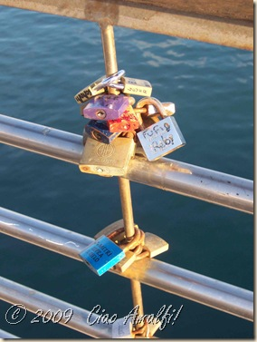Ciao Amalfi Coast Blog Love Locks 4