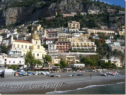 Ciao Amalfi Coast Blog Positano Beach