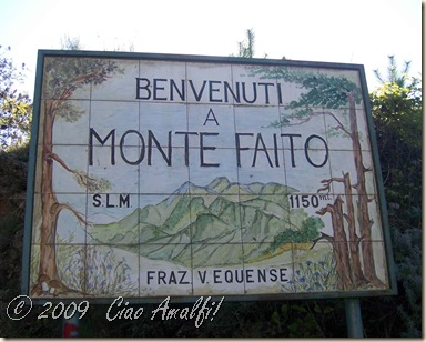 Ciao Amalfi Coast Blog Monte Faito 3