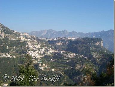 Ciao Amalfi Coast Blog View from Pogerola 1