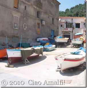 Ciao Amalfi Coast Blog Nerano fishing boats