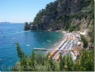Ciao Amalfi Coast Blog Positano Fornillo Beach