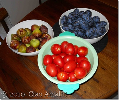 Ciao Amalfi Coast Blog Summer Fruits