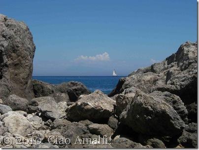 Ciao Amalfi Coast Blog Santa Croce Sailboat