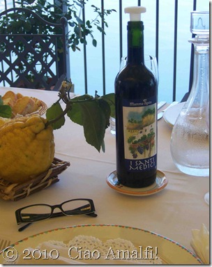 Ciao Amalfi Blog Mamma Agata Wine