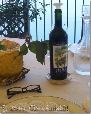 Ciao Amalfi Blog Mamma Agata Wine