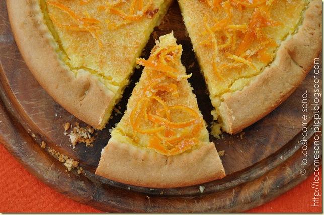 Crostata di crema alla ricotta e cocco al profumo di arancia5