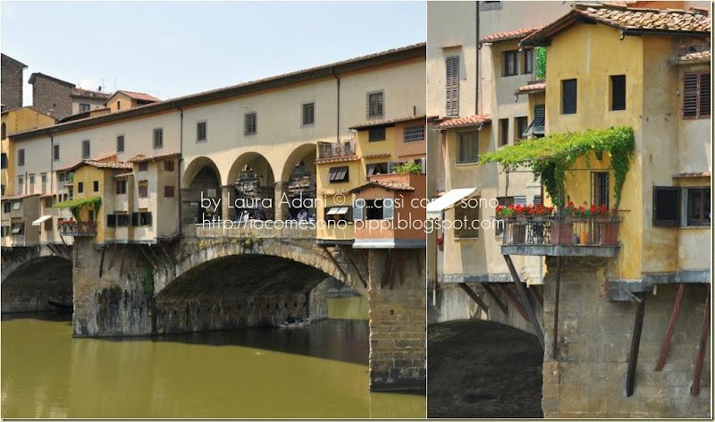 Collage ponte vecchio
