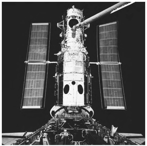 The Hubble Space Telescope includes an ultravidlet light instrument called the Goddard High Resolution Spectrograph that it is capable of observing extremely distant objects.