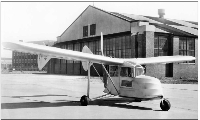 Some experimental aircraft begin as homebuilt inventions to test new designs, such as Fred Weick's homebuilt 1934 W-1A, which experimented with the use of tricycle landing gear.
