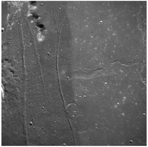 Regional deposit of dark mantle material near the southwestern edge of Serenitatis. Orbital observation during the Apollo 17 mission indicated that these deposits contain extensive layers of orange, red, and black glasses. This figure is available in full color at http://www.mrw.interscience.wiley.com/esst.