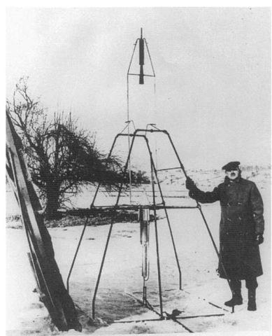 The Goddard rocket