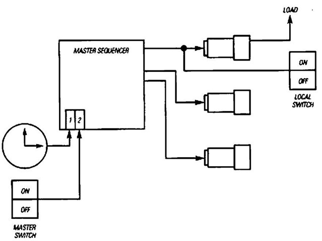 schematic for photocell outdoor lights