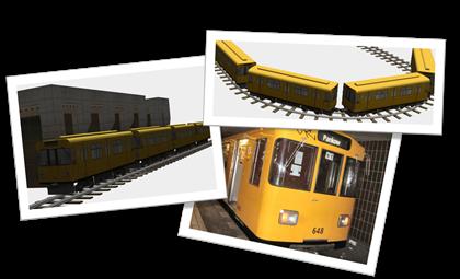 U-Bahn by Erhard Beyer e CTR U-Bahn by Groudon (lassoares-rct3)