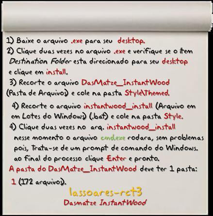 Tutorial DasMatze InstantWood (lassoares-rct3)