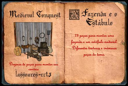 Medieval Conquest - fazenda e estábulo I (lassoares-rct3)