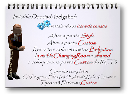 Invisible Doodads Instalando Custom (belgabor) lassoares-rct3