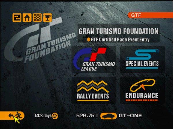 Gran Turismo 2 GTF
