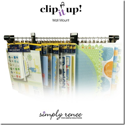 Clip It Up Wall Mount