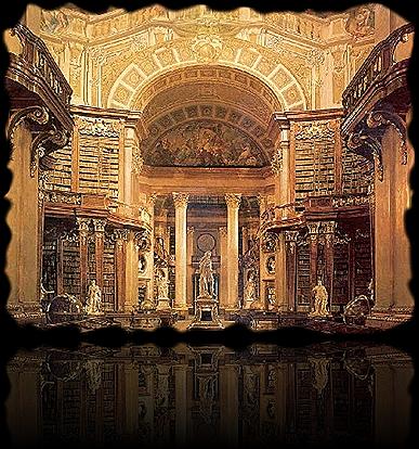 Biblioteca em Viena